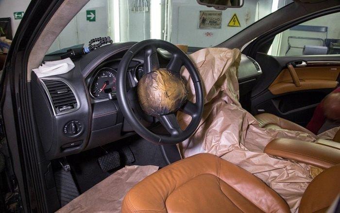 ремонт салона авто фото
