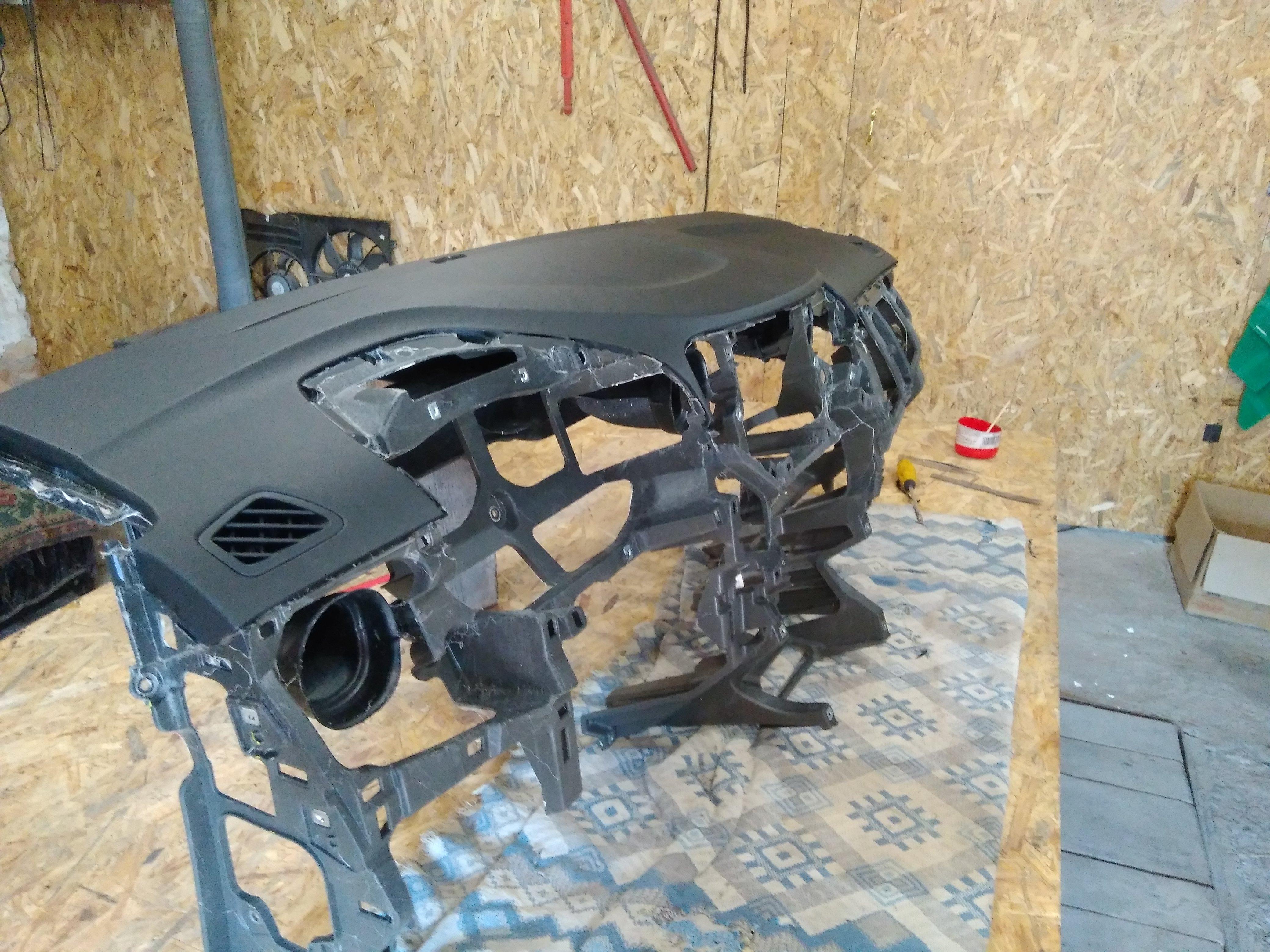 восстановление панели авто