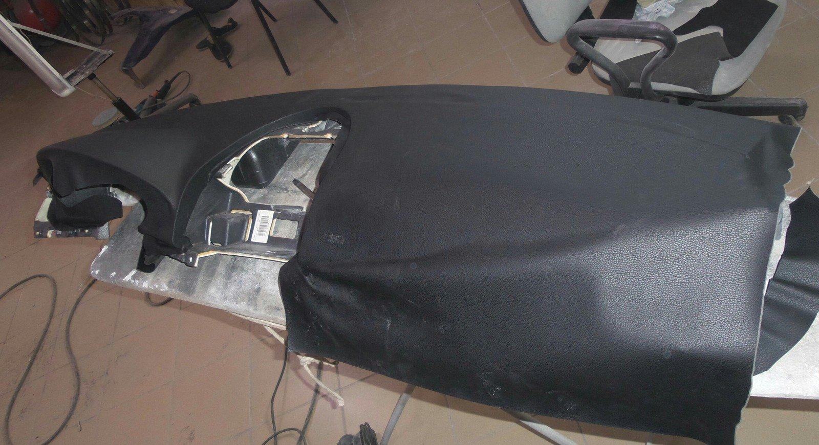 ремонт торпеды после срабатывания подушки своими руками