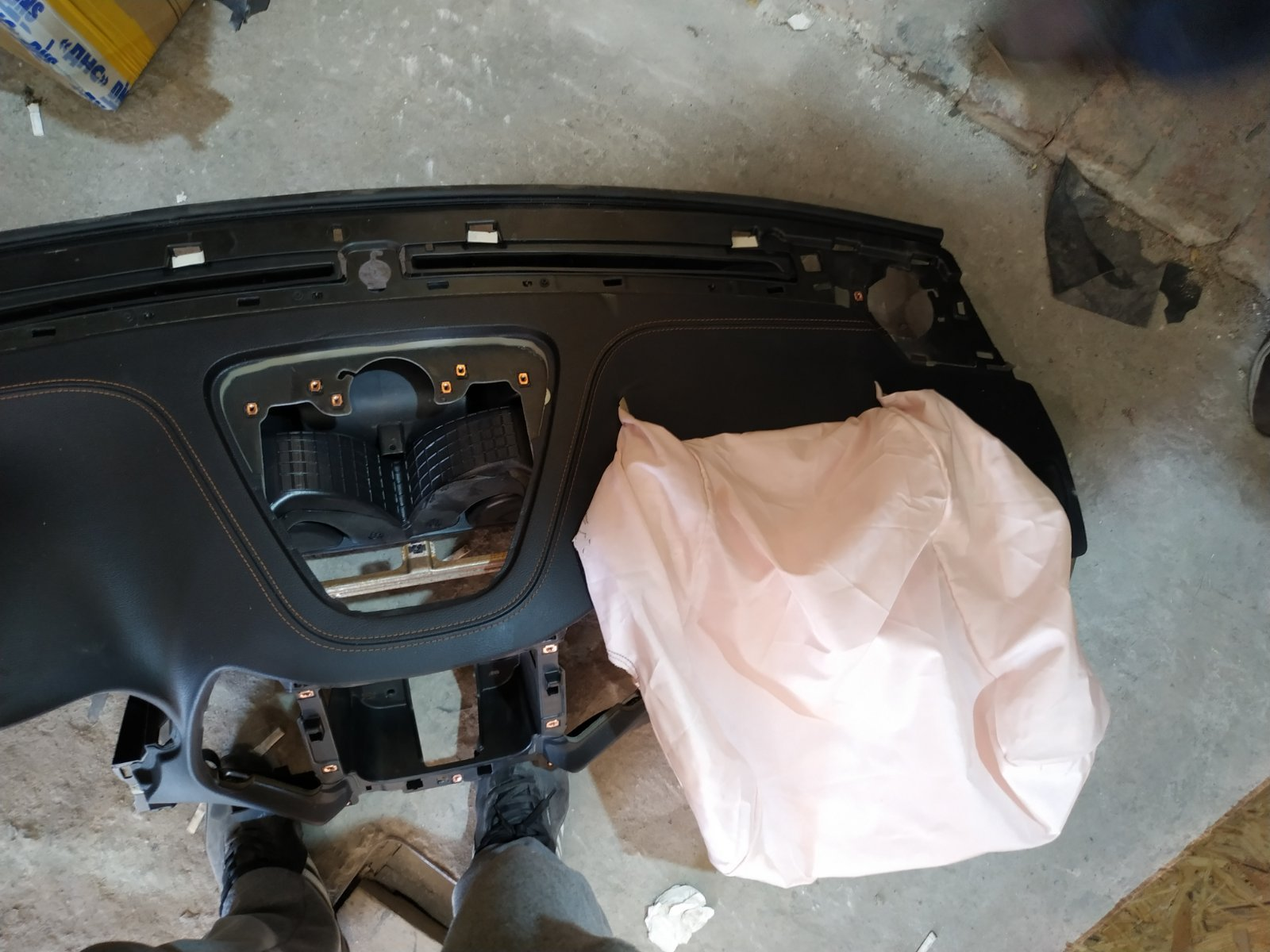 подушка безпеки шкода октавія а5