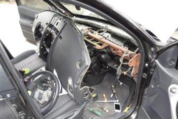 ремонт подушки безопасности рено меган 2
